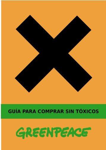 Guía para comprar sin tóxicos - Greenpeace - Prenatal