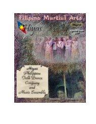 Special Issue - Hiyas - Philippine Folk Dance ... - FMA Informative