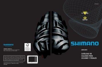 Catálogo de calzado y pedales Shimano 2010 - Amigos del ciclismo