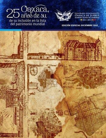 Descargue la versión digital PDF aquí - H. Ayuntamiento de Oaxaca ...