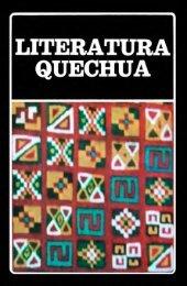 Literatura Quechua - iberoamericanaliteratura