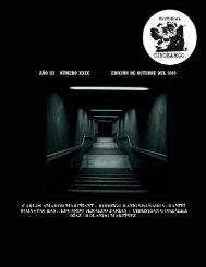 año iii número xxix edición de octubre del 2010 - Cinosargo - Bligoo ...