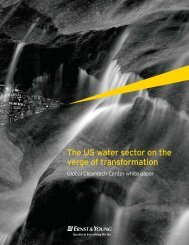 The US water sector on the verge of transformation