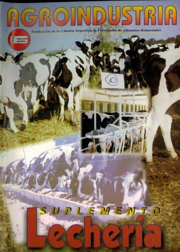 suplemento 10 lecheria - Agroindustria. - caena