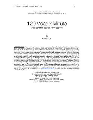 120 Vidas x Minuto - Gustavo Ott