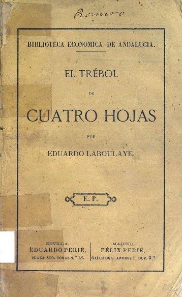 cuatro hojas - Biblioteca Universitaria de la Universidad de Málaga