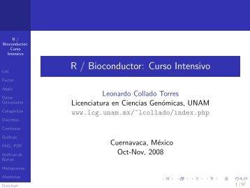 Datos Univariados y Gráficas-Leo - Licenciatura en Ciencias ...