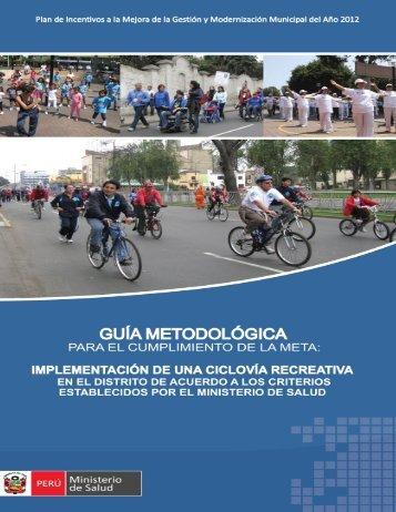 Guía Metodologica - Ministerio de Economía y Finanzas