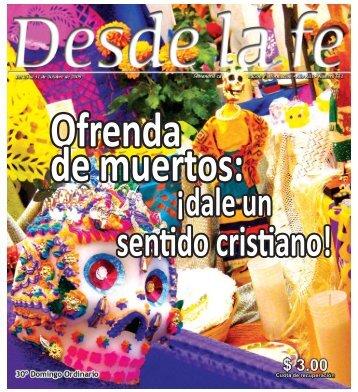 Ofrenda de muertos - Centro Católico Multimedial