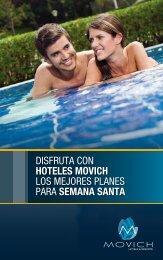 planes movich hotels - semana santa - Movich Hotels & Resorts.