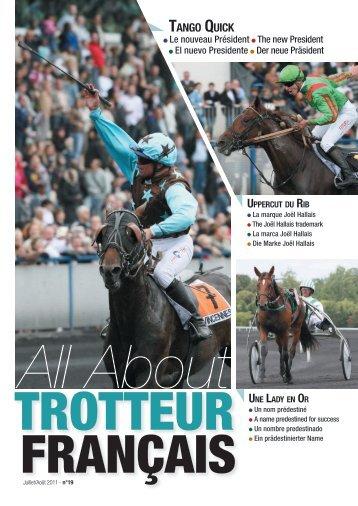 TANGO QUICK - Le cheval Français