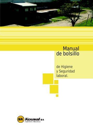 manual de bolsillo - HIGIENE y SEGURIDAD LABORAL