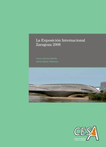 La Exposición Internacional Zaragoza 2008 - Gobierno de Aragón