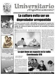No. 39 · Lunes 25 de agosto 2003 - Publicaciones - Universidad ...