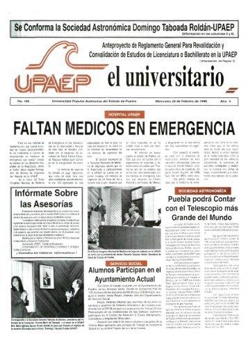 faltan medicos en emergencia - Biblioteca - Universidad Popular ...