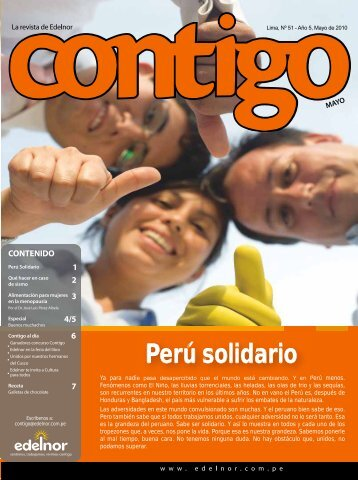 Perú solidario - Edelnor