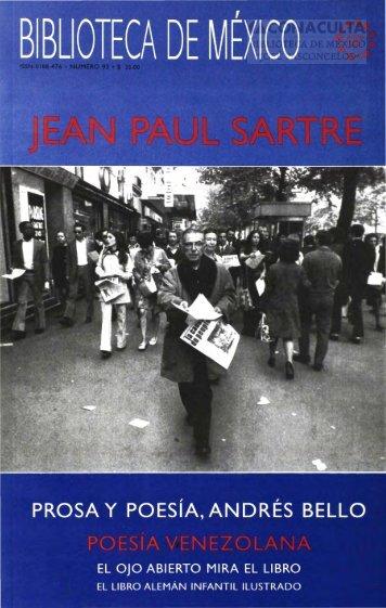 jean paul sartre - Dirección General de Bibliotecas - Consejo ...
