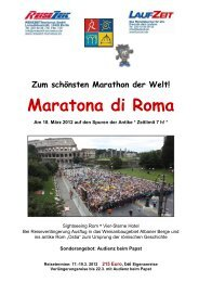 2012 Flyer Rom mit Strecke - REISEZEIT Tourismus GmbH