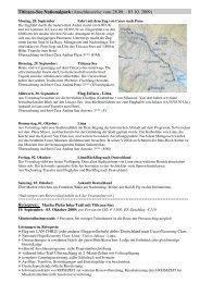Flyer Inka Trail mit Titicaca-See - REISEZEIT Tourismus GmbH