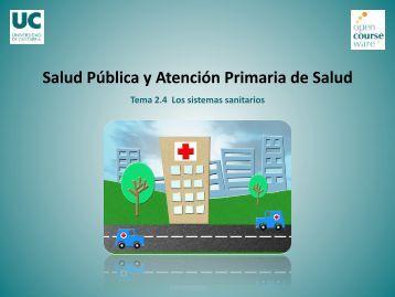 Tema 2.4. Los sistemas sanitarios