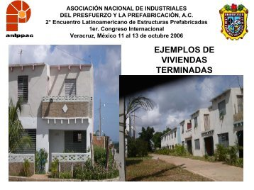 EJEMPLOS DE VIVIENDAS TERMINADAS - anippac