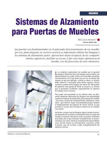 Sistemas de Alzamiento para Puertas de Muebles - Revista El ...