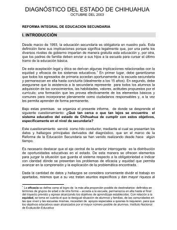 Chihuahua - Subsecretaría de Educación Básica - Secretaría de ...
