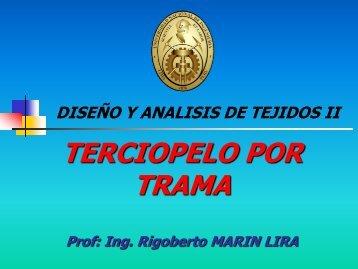 TERCIOPELOS POR TRAMA - Dokeos