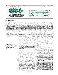 Informe Breve Sobre El Impacto de Los Cultivos de ... - CIDICCO