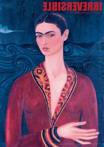 Frida Kahlo | Autorretrato con traje de terciopelo | oil on canvas | 78 ...