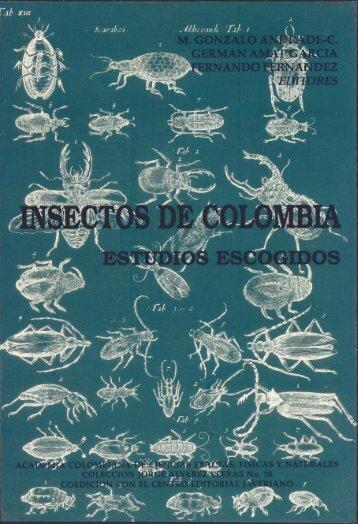 insectos de colombia estudios escogidos - Portal de la Universidad ...