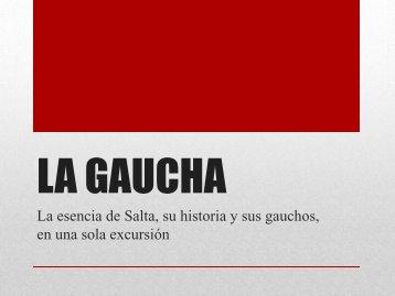 LA GAUCHA - Cerros de Terciopelo