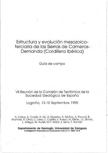 guía cameros - Universidad de Zaragoza