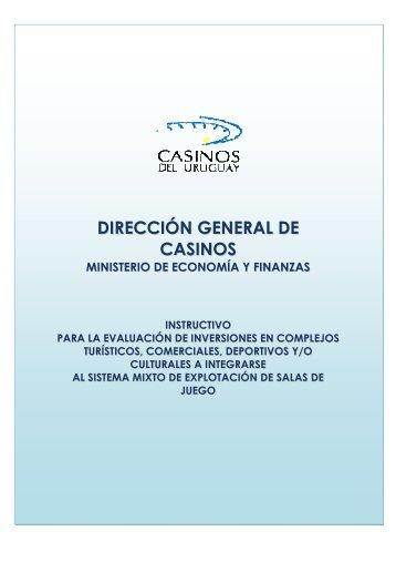 DIRECCIÓN GENERAL DE CASINOS - Casinos del Estado