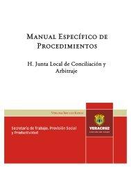 H. Junta Local de Conciliación y Arbitraje del Estado - Gobierno del ...