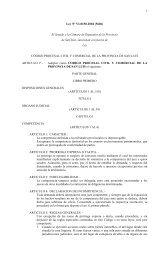 Código Procesal Civil y Comercial - Poder Judicial de la Prov. de ...