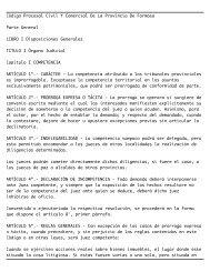 Código Procesal Civil Y Comercial De La Provincia De ... - Justia