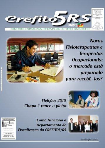 Novos Fisioterapeutas e Terapeutas Ocupacionais: o ... - Crefito5