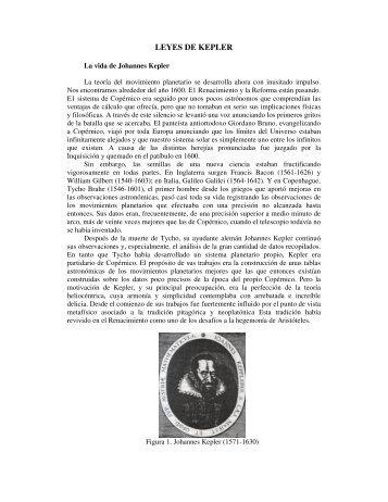 LEYES DE KEPLER - Historia y Filosofía de la Ciencia