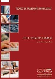 Ética e Relações Humanas - Instituto Consciência GO