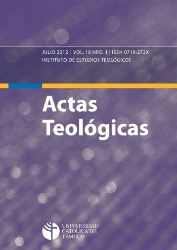 Actas Teológicas - Repositorio Digital - Universidad Católica de ...