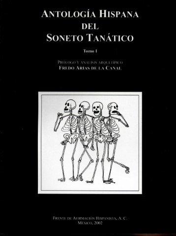 HISPANA DEL SONETO TANÁTICO - Frente de Afirmación Hispanista