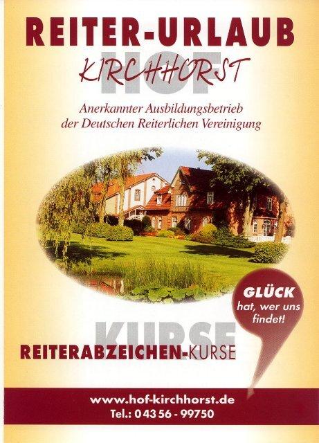 Flyer Hof Kirchhorst