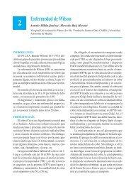 Enfermedad de Wilson - Asociación Española de Pediatría