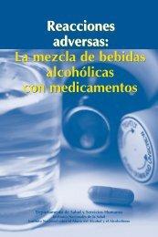 Reacciones adversas: La mezcla de bebidas alcohólicas - National ...