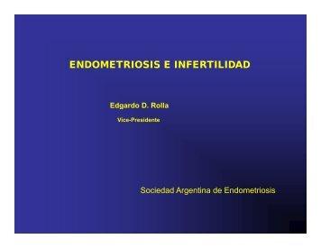 endometriosis e infertilidad - SAMeR. Sociedad Argentina de ...