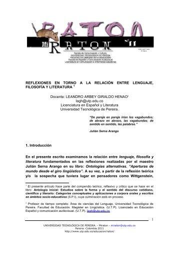 Descargar PDF - Universidad Tecnológica de Pereira