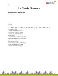 La Novela Picaresca Federico Ruiz Morcuende