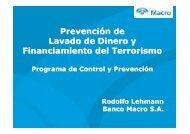 Prevención de Lavado de Dinero y Financiamiento del ... - Adeba