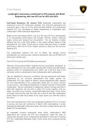 Download Press Release - Reiter Engineering
